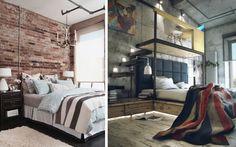 habitaciones estilo industrial - Buscar con Google Bed, Room, House, Furniture, Epcot, Home Decor, Decorating Ideas, Google, Master Bedroom