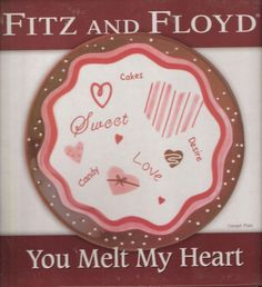 Pinterest the world s catalog of ideas for Fitz and floyd canape plate