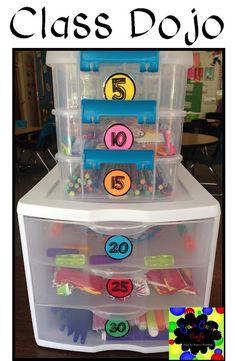 Magnificent Mile -- Organize Class Dojo rewards into Dojo Point Clubs Class Dojo Rewards, Classroom Rewards, Classroom Behavior Management, Classroom Organisation, First Grade Classroom, Kindergarten Classroom, School Classroom, Classroom Ideas, Behavior Rewards