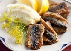Silakat (fried pickled herring)