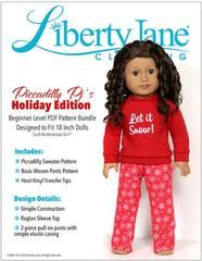 Hi everyone, The question is simple, who wearsit best? Vote now to be entered to win an 18-inch American Girl Doll and a these fun holiday pajamas! This week's