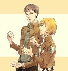 Armin, Jean, yaoi; Attack on Titan