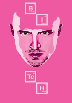 Fan art for Jesse Pinkman from Breaking Bad series