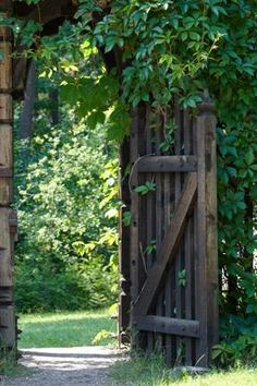 Would love to walk thru this gate..