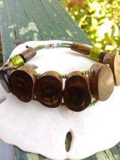 brown coral bracelet