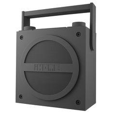 iBT4 BT Boombox With Radio Grey