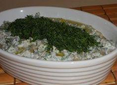 Yoğurtlu yeşil mercimek salatası