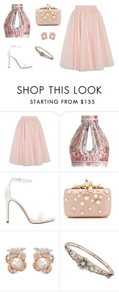 """""""Friday Night"""" by irachkamarkovna ❤ liked on Polyvore featuring Mode, Ted Baker, Zimmermann, Zara, Elie Saab, Anabela Chan, party, ootd und friday"""