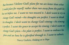 Nancy Guthrie quote