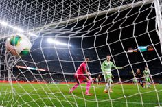 Lionel Messi of FC Barcelona scores his team's third goal during the Copa del Rey round of 16 first leg match between FC Barcelona and Getafe CF at Camp Nou on January 8, 2014 in Barcelona, Catalonia.