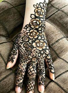 Modern Henna Designs, Floral Henna Designs, Basic Mehndi Designs, Latest Bridal Mehndi Designs, Stylish Mehndi Designs, Mehndi Designs 2018, Henna Art Designs, Mehndi Designs For Beginners, Mehndi Designs For Girls