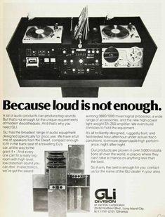 Vintage GLI ad from Billboard