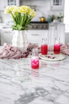 How often do you start your day with a healthy drink? I wanted to create a non-alcoholic version of a beet and fruit juice drink and ended up creating this spritzer. Juice Drinks, Fruit Juice, Cocktail Drinks, Healthy Drinks, Cocktails, Red Food Dye, Juice Plus, Non Alcoholic, Cocktail