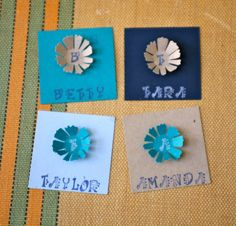 Custom Place Cards by IntoBlue on Etsy, $1.00