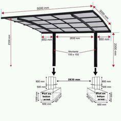 Carport Designs, Pergola Designs, Pergola With Roof, Pergola Plans, Pergola Kits, Steel Roofing, Roofing Shingles, Carport Aluminium, Car Shed