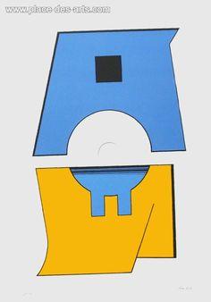 Composition Madi, Serigrafia, del pintor, CARMELO, ARDEN-QUIN, Firmado y numerado al lápiz Arte Madi, Detail Art, Paris France, Fine Art Prints, Illustration, Poster, Painting, Historia, Art Prints