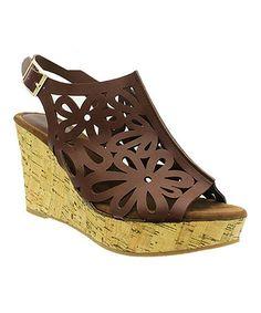 14a0a179675a Pierre Dumas Whiskey Lolita Wedge Sandal