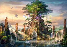 Theme park design - the tree of life by sam2982 on deviantART