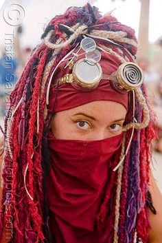 The Fashion of Burning Man