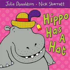 A worksheet using rhyming words from the Julia Donaldson book 'Hippo Has a Hat'. Children cut and stick the rhyming words. David Shannon, Dear Zoo, Best Children Books, Childrens Books, Young Children, Julia Donaldson Books, Gruffalo's Child, The Gruffalo, Cycle 2