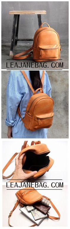 Genuine Leather Backpack, Women Backpack, Bag and Backpack SL028
