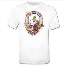 Girl On Skull T-shirt