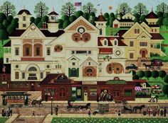 Derby Square-Charles Wysocki