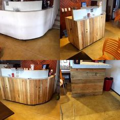 DIY Pallet Bar Paneling Project | 99 Pallets