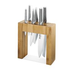 Global Ikasu 7pc Knife Block Set - Buy Now & Save!