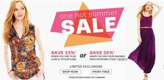 Lord & Taylor http://www.appearanceforless.com/ #LordandTaylor #Fashion #Discount #Coupon #Sales