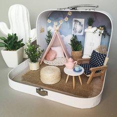 Miniature en valise