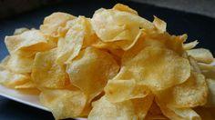 Patatas chips perfectas. Crujientes y riquísimas. Tips y trucos