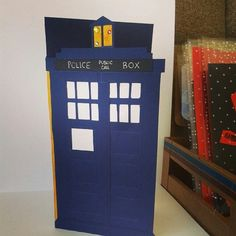 Our Dr. Who gift card #post #gift #tardis