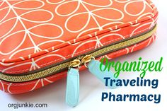 My Organized Traveling Pharmacy at I'm an Organizing Junkie