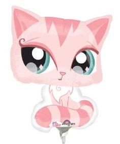 Littlest-Pet-Shop-Pink-Cat-Mylar-Jumbo-Balloon-28-Birthday-Party-Decorations