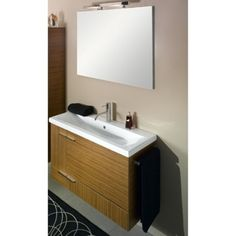 """14.5"""" depth vanity - great for a narrow space"""