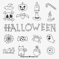 doodle ideas for your MoodClue hangtag Doodle Halloween, Halloween Drawings, Halloween Design, Bullet Journal Halloween, Bullet Journal Inspiration, Desenhos Halloween, Doodle Art Journals, Doodle Designs, Doodle Ideas