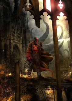 Hellboy    I LOVE HIM!! <3