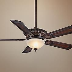 "54""  Alessandria Brushed Cocoa Ceiling Fan"
