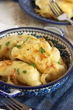 The Very Best Potato Pierogi Recipe - The Suburban Soapbox Easy to make, tender and perfect, this is the very Best Potato Pierogi recipe ever. My grandfather's recipe made even better, authentic polish comfort food. Easy Polish Recipes, Simple Recipes, Polish Desserts, Polish Potato Pancakes, Tasty Pancakes, Pierogi Recipe, Ukrainian Recipes, Slovak Recipes, Russian Recipes