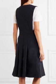 Comme des Garçons GIRL - Twill Dress - Navy -