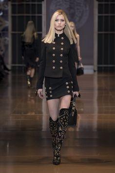 Milan Fashion Week A/W 2014: Donatella Versace - Eclipse Magazine