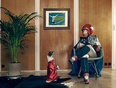 Sacha Goldberger - Mamika - Galerie Acte 2 - Super Mamika - Mamika grande petite grand-mère - Ben Bensimon