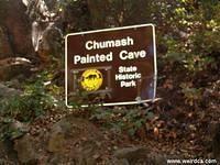 Santa Barbara Chumash Painted Cave - State Historic Park