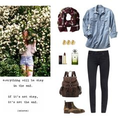 """""""everything will be okay in the end ,if it is not okay, it is not the end"""" by annietheou on Polyvore"""