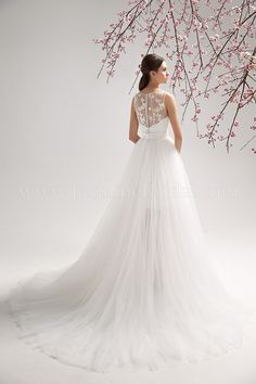 F151053 / Wedding Dresses / Jasmine Collection / Available Colours : Ivory, White (back)