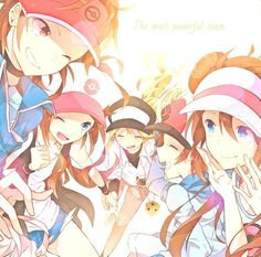 pokemon black and white 2 anime google search pokemon black and