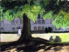 My paintings Paintings, Plants, Paint, Painting Art, Planters, Painting, Painted Canvas, Portrait, Resim