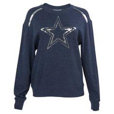 Unisex Dallas Cowboys Klew Navy Slogan Crew Knit Ugly Sweater ...