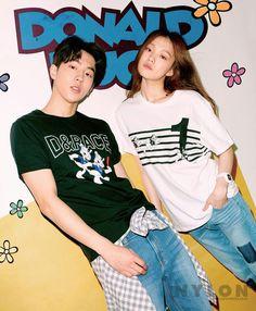 Lee Sung Kyung and Nam Joo Hyuk - Nylon Magazine April Issue